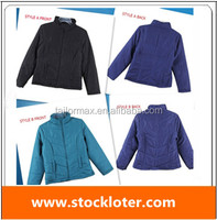 Thick Padded Jacket Coat Closeout, coat Inventory. closeout ladies jacket, 140508