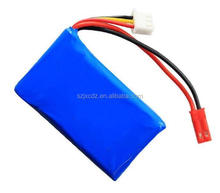 2017 China factory lithium polymer 10000mAh 20C 11.1v rc battery for drone and helicopter
