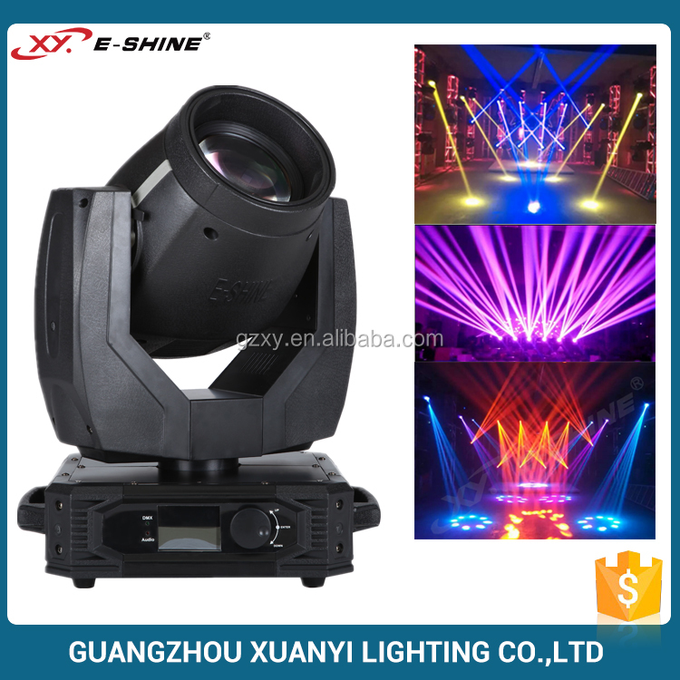 8-Facet Prism And Prism Zoom 200W Sharpy Beam 5R Moving Head Light For Sale