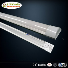 Modern tri-proof led light flat tube, 36W led batten light 120cm with good quality and nice price