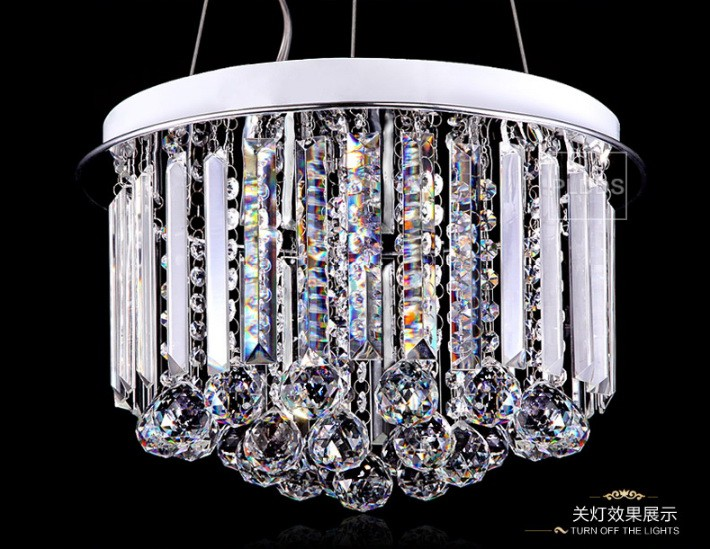 Crystal Round Pendant Light