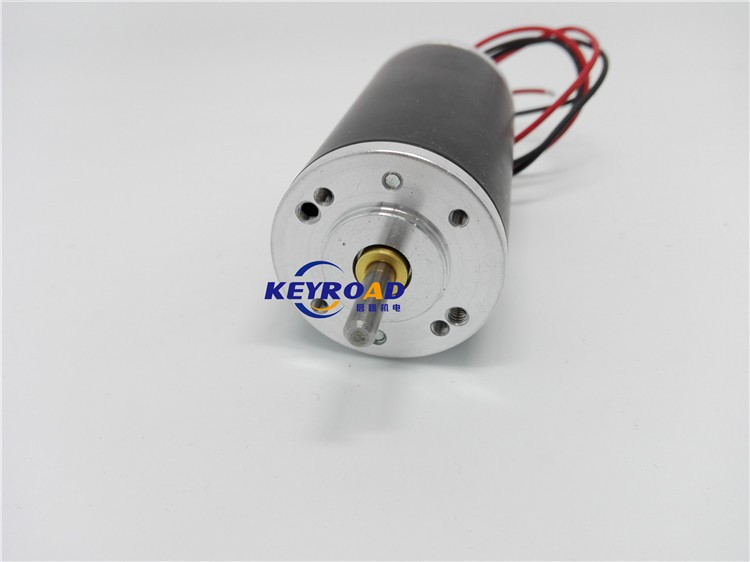 Customization 24V 130W 8770rpm 5.43A 42mm Permanent Magnet Brush DC Motor with Speed Stable and Low Noise