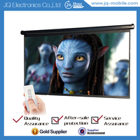 Electric projector screen / Wall & Ceiling Mounted Motorized projection screen for indoor or outdoor