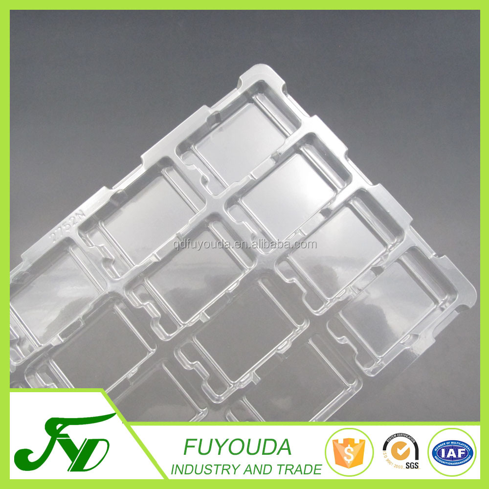 Hot sale disposable transparent plastic clamshell packaging box