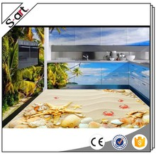 China factory best selling exterior 3d mural flooring