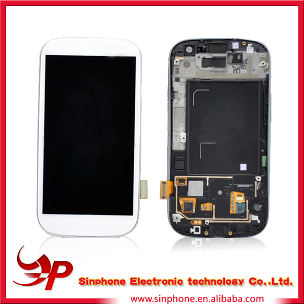 China market of electronic lcd touch screen for samsung galaxy s3 mobile phone