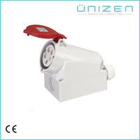 UNIZEN China Products Prices Industrial Electrical Indian Standard Plug And Socket