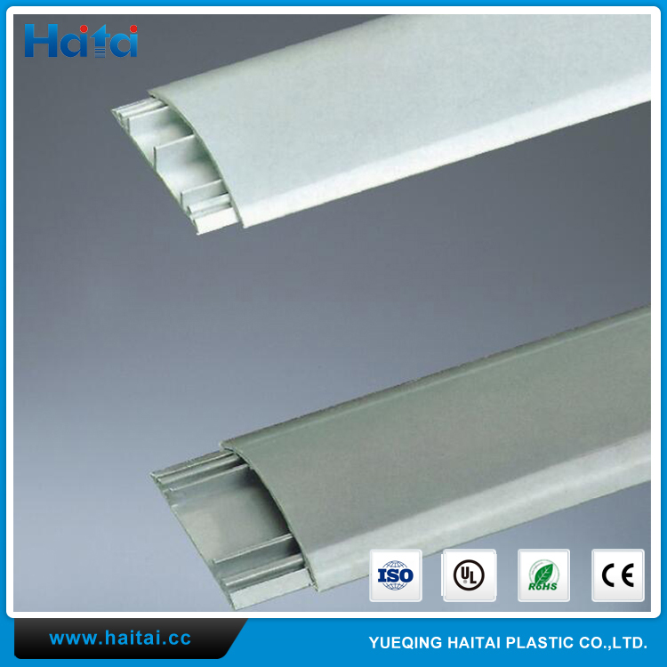 Haitai PVC Wire Cable Ducts Plastic Cable Trunking And Accessories