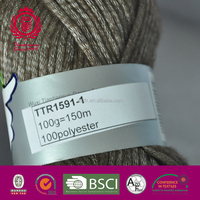 1.5NM/1 100%polyester yarn
