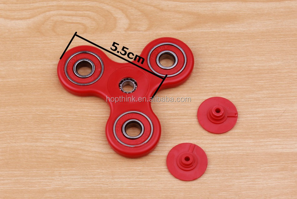Hotselling gift Finger toy durable EDC speed tri fidget hand spinner