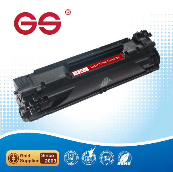 Compatible BK toner laserjet printer laser cartridge for HP CE285A CE 285a 85a P1102 P1102W M1132 M1212 M1214 M1217