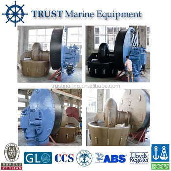 Marine 4 Blades Alloy Azimuth bow thruster with tube