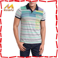 2015 cool and new style yarn dye men polo/new design custom polo shirt