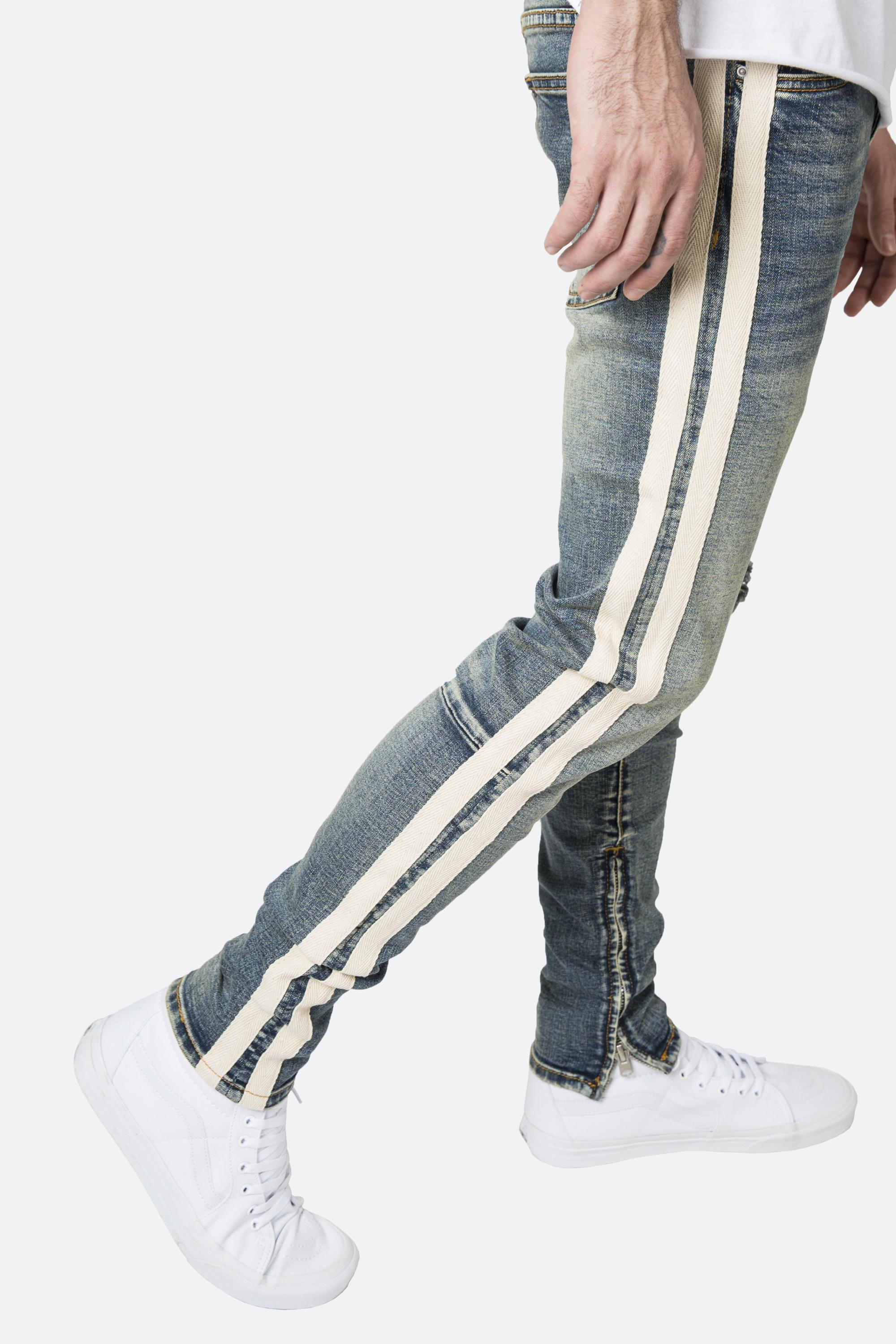 OEM track private label jeans factory