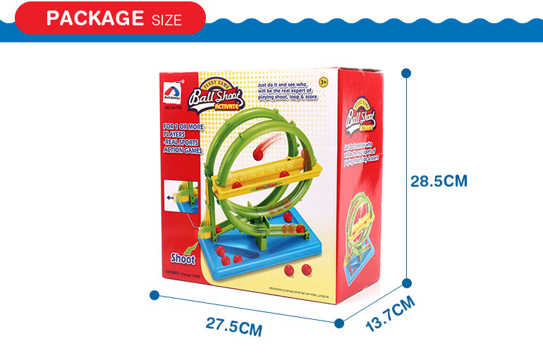 Cost effective exciting tabletop single player game ball shoot activate for wholesale