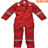 High Quality Colored Reflective Safety Anti-Static Coverall
