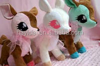 handmade cute bag accessory mini deer plush toys