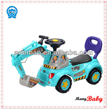 plastic baby car price baby excavator car baby ride on car lovely model