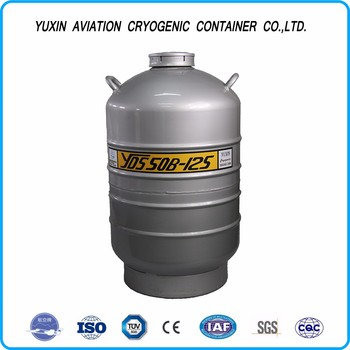 Aluminium alloy cryogenic tank container for biological speciman sample