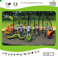 Updated OUTDOOR climbing PARK set play structure spider-man climbing sets