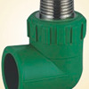 Plumbing PP R FITTINGS THREADED MALE