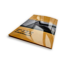 Zuoluo Custom Printing A4 Paper File Folder with Pockets