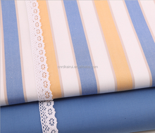 High quality soft warm double sided quilting cotton yarn dyed shirting fabric with cheap price