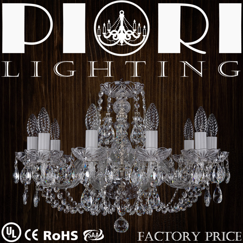 High End CE/UL Certification Art Decoration Crystal Light Fixtures