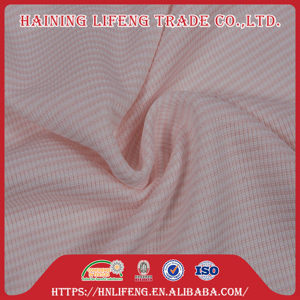 100 polyester microfiber weft knitted plain mesh cationic interlock fabric