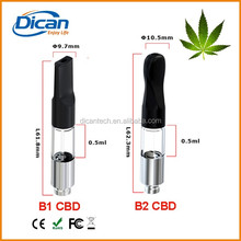juju joints canada .5ml vape cartridge plastic tube clear cbd tank cartridge no wick e cig
