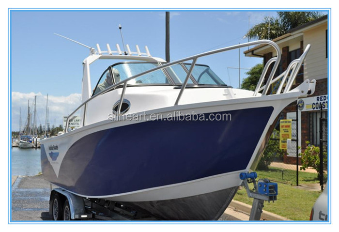 allheart 19ft aluminum targa boats with outborad motor