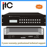 Intelligently HD Mixed Insertion 8x8 hdmi matrix switcher