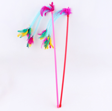 Feather Cat Teaser Feather Cats Toys Wholesale Cat Products Pet Accessories For Pet Shop