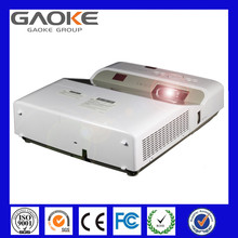 Gaoke 3LCD UST series with 3000 lumens XGA (1024x768) resolution Contrast Ratio 1600:1 hd projector