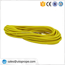 8MM Yellow double braided polypropylene rope for flagpole rope