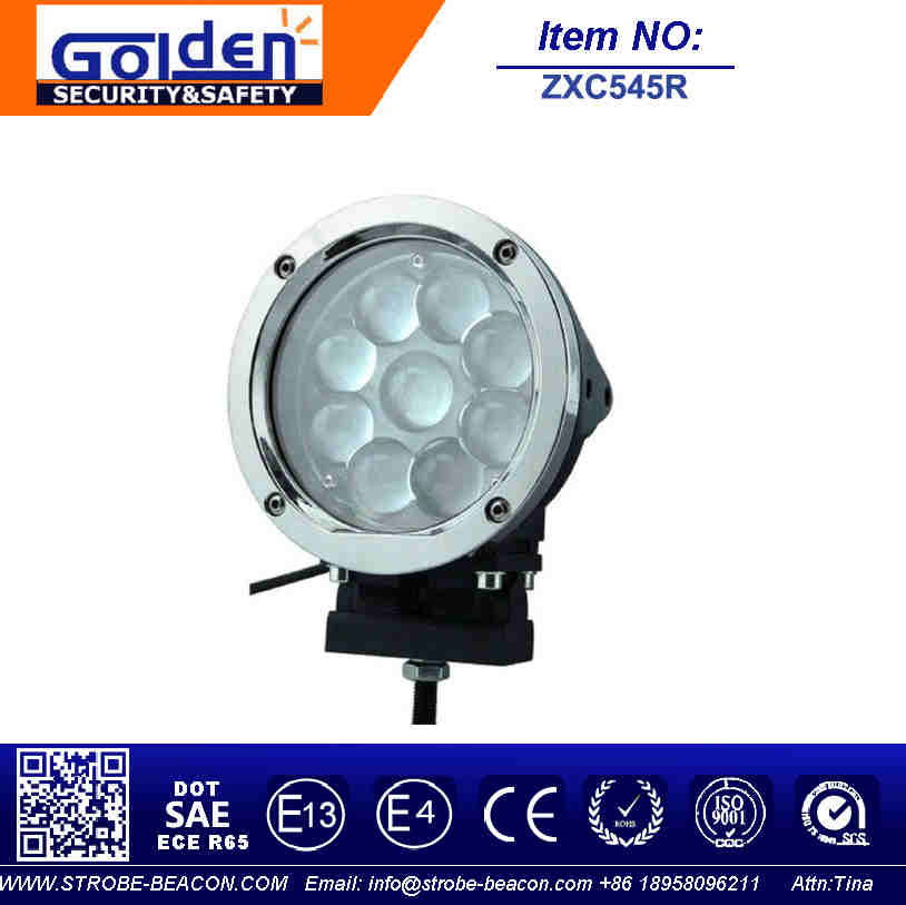 45W Auto Tuning LED Work Light Off Road Driving Lights