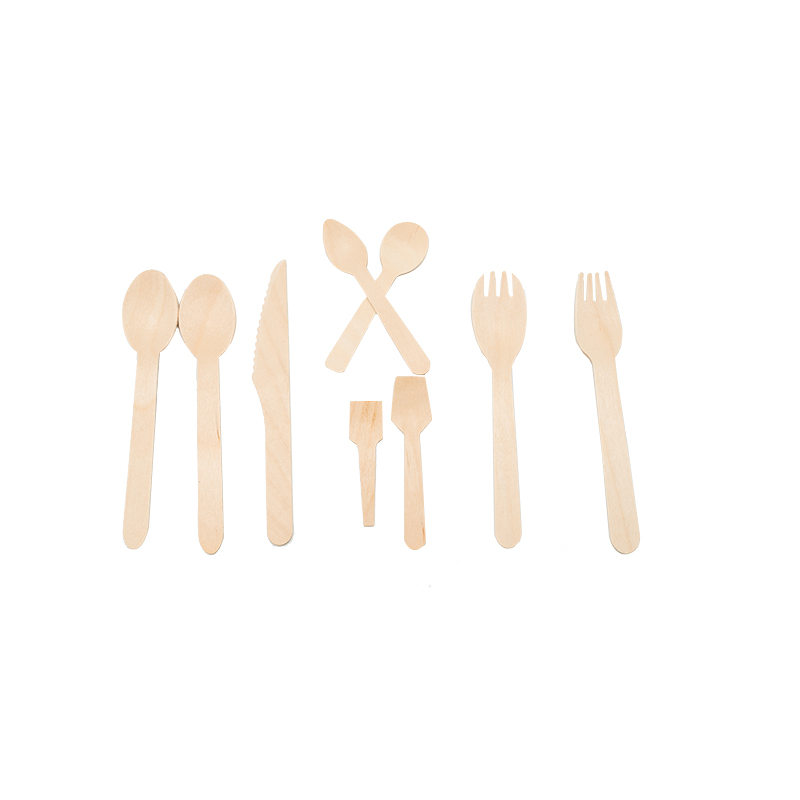 Food grade biodegradable disposable wooden fork