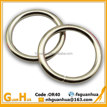 Customized new fashion metal O ring for bag