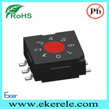 R9308C0S SMD 8 pos navigation momentary rocker switch
