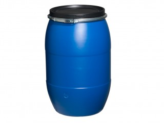 Food Grade 150 litre Blue plastic drum