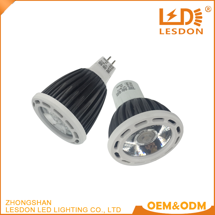 2017 New Products Listed 4W 7W Mr16 LED <strong>Bulb</strong> Warm COB Spot LED Light