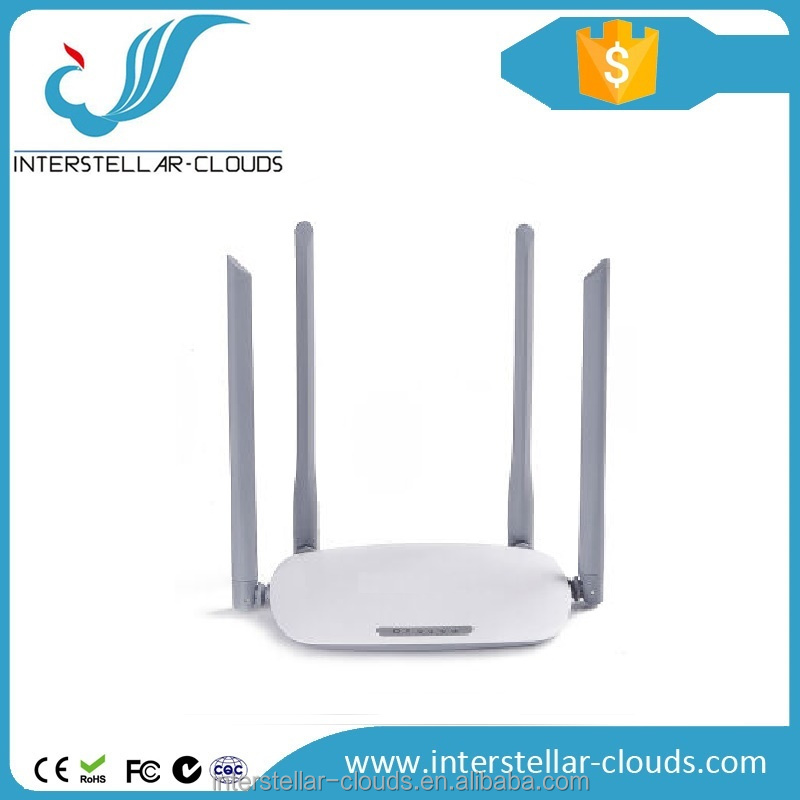 High speed 300Mbps router wifi wireless 4 antennas 2.4ghz modem wireless router setup