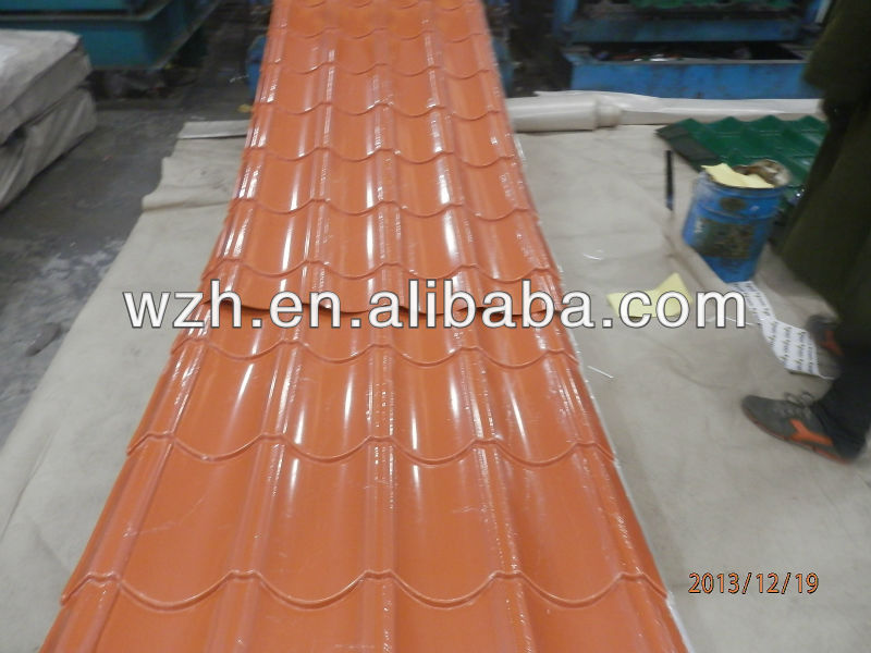ISO 9001:2008 cheap steel roofing sheet supplies from china