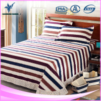 Indian Style Cotton Single Side Bed Sheets With Frills