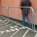 powder coated crowd control barrier/ pedestrian barriers for sale