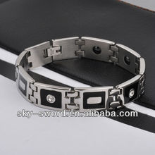 Magnetic bike chain bracelets for men IB10012