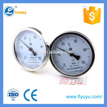 0-50C WSS back Bimetal Thermometer for furnace