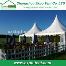 (5x5m) Square Luxury Wedding Pagoda Tent