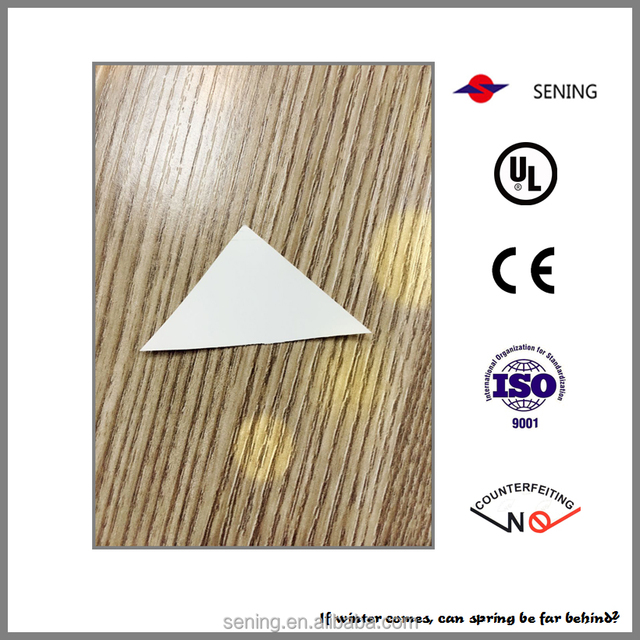 the hard to remove egg shell, great adhesive and fragile or destructible material paper label sticker