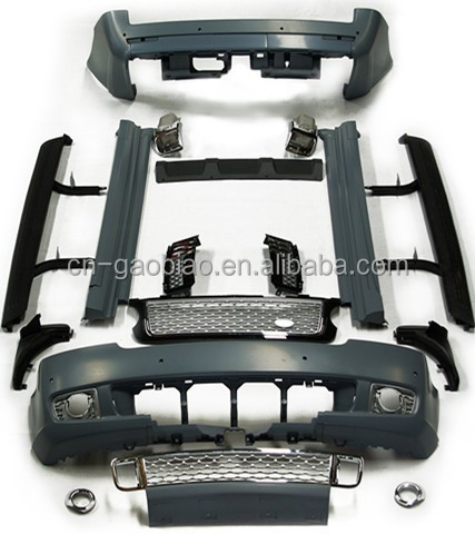 Body kits fit Vogue Limited Series 2010-2012 Material PP For Range rover